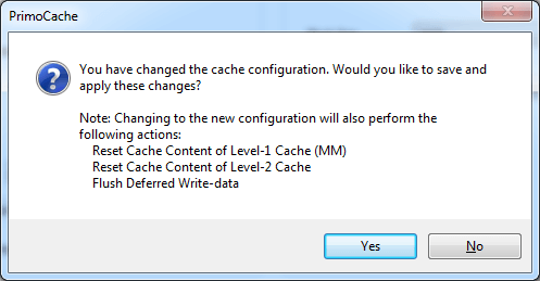 Edit Cache: change message